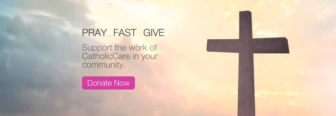 Give to those most in need during Lent